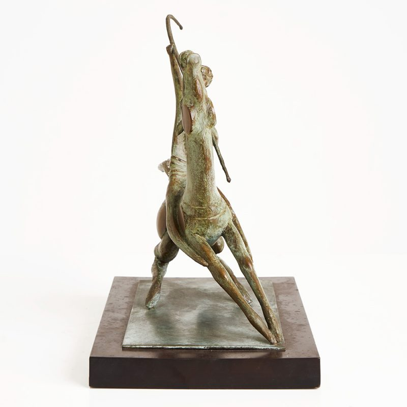 1950s Italian bronze sculpture