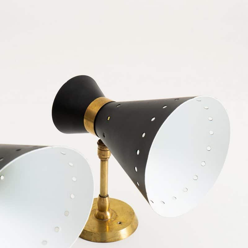 1960s Italian wall lights