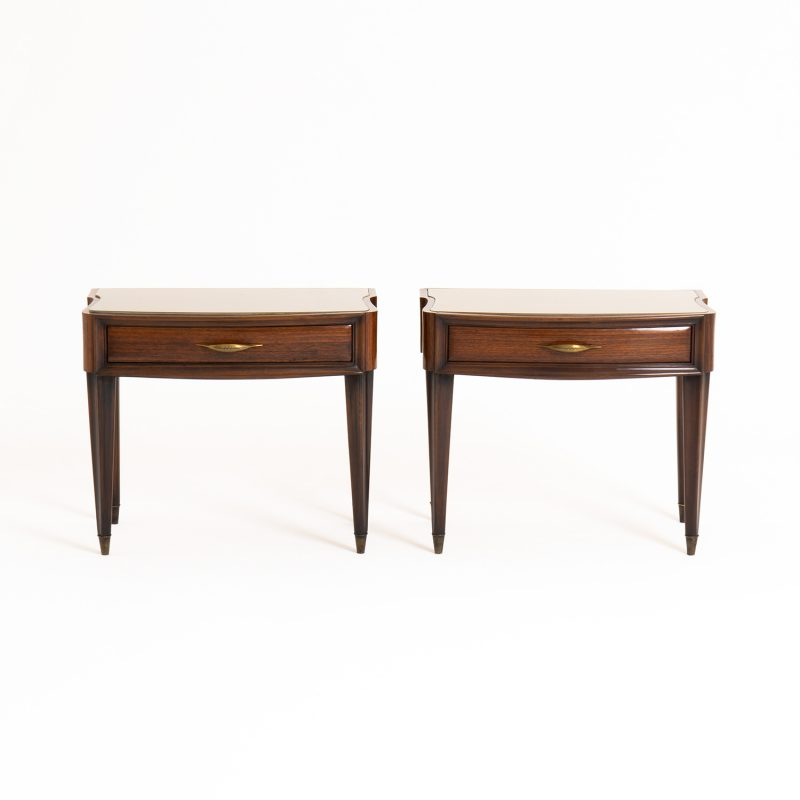 Pair 1950s Italian side tables