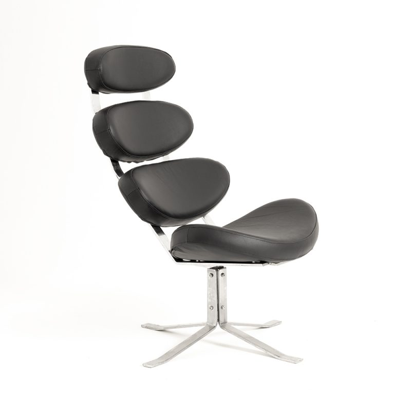 1960s Poul Volther Corona chair