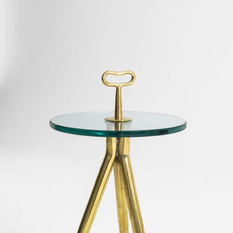 1960s Italian Glass Table