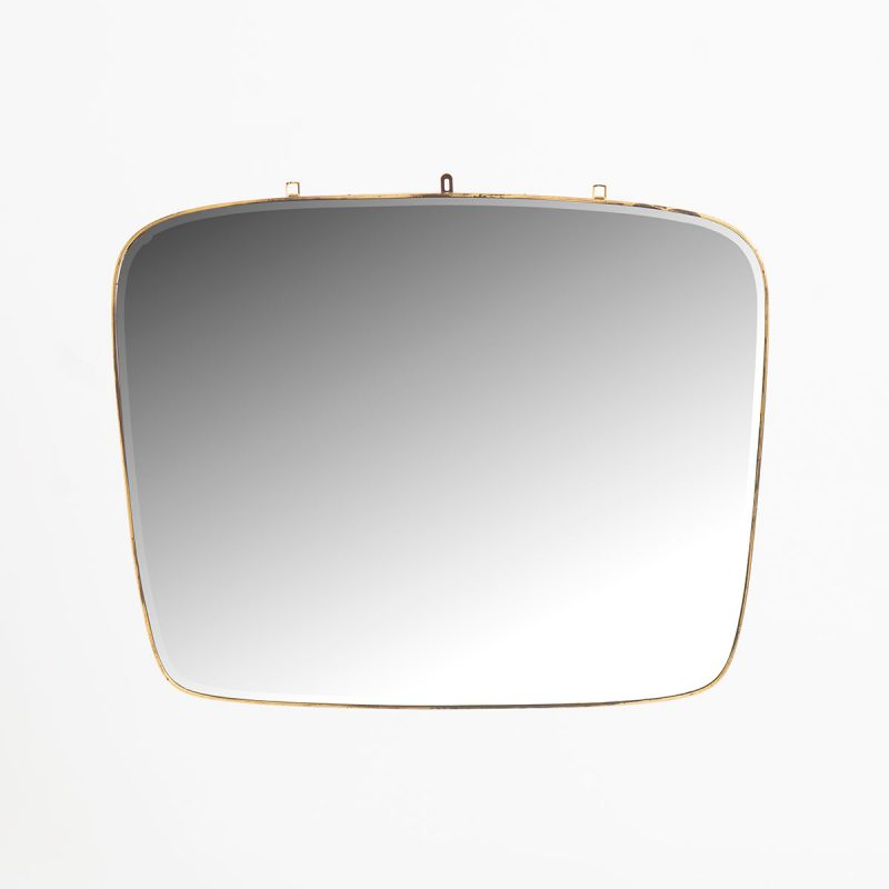 1950s Italian mirror with bevelled edge