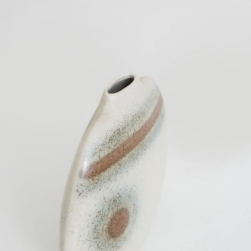 1950s French ceramic vase