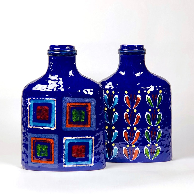 Pair of 1970s Italian ceramic vases