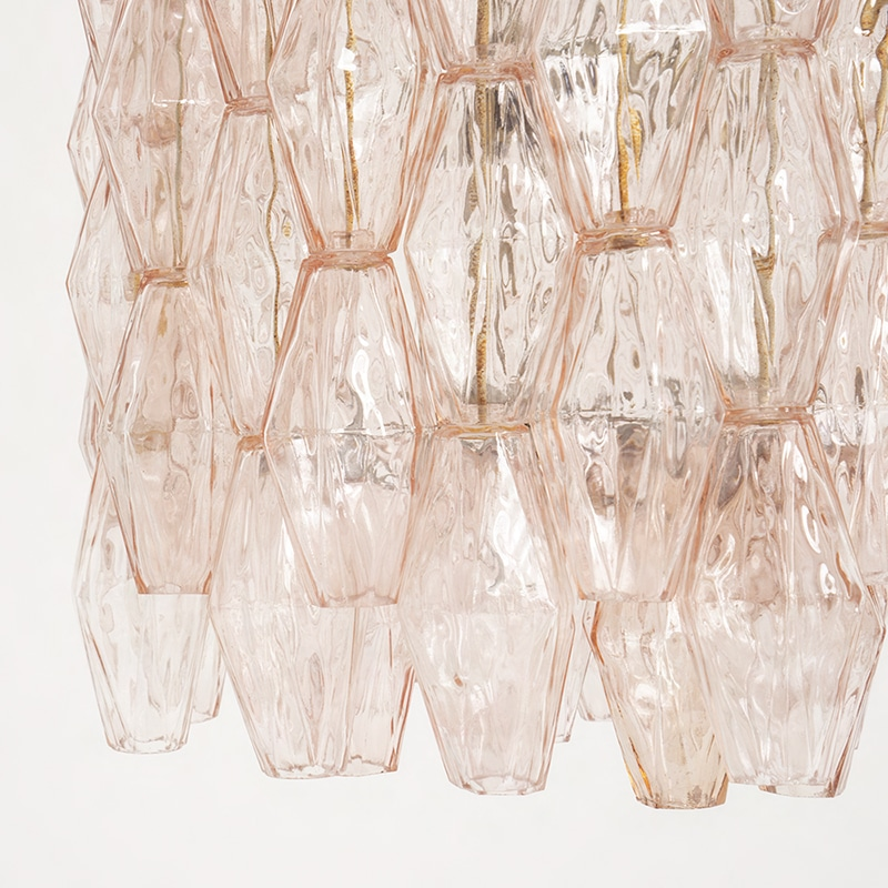1960s Venini  Murano glass chandelier