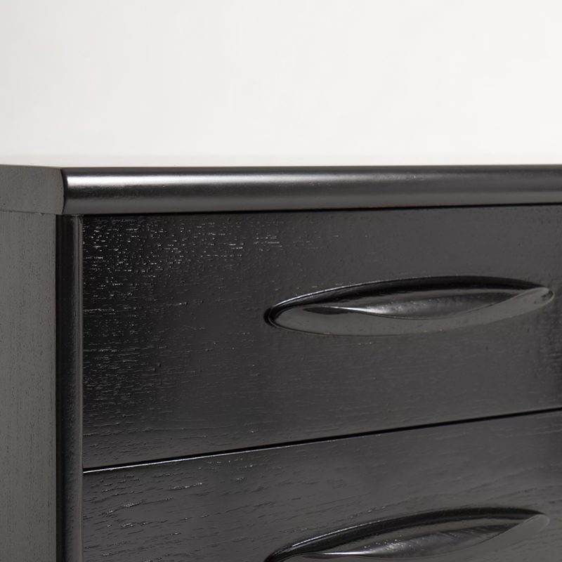 1970s British ebonised sideboard