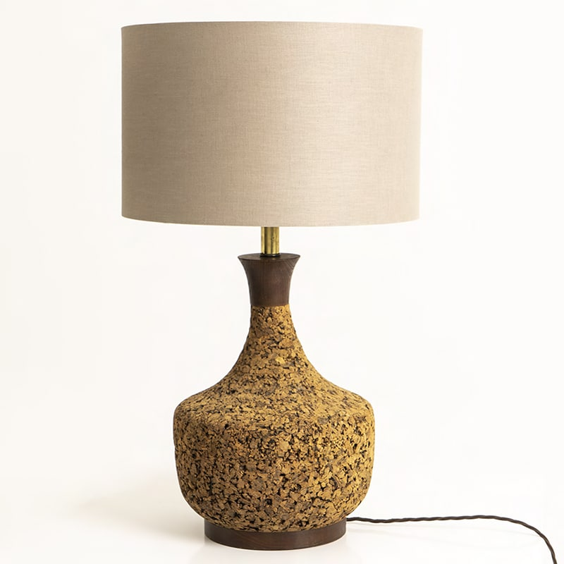 Pair 1970s US table lamps