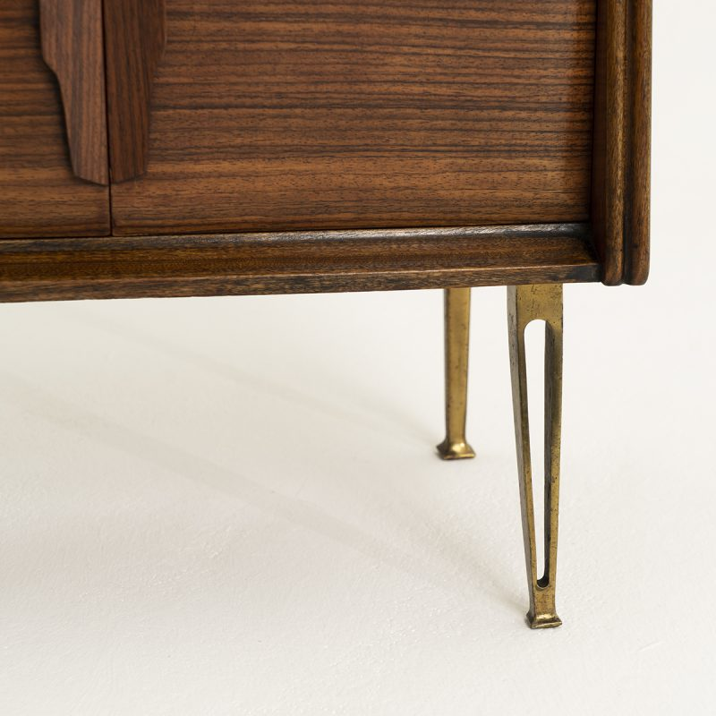 1950s Pair of Italian Bedsides, attrib to Gio Ponti