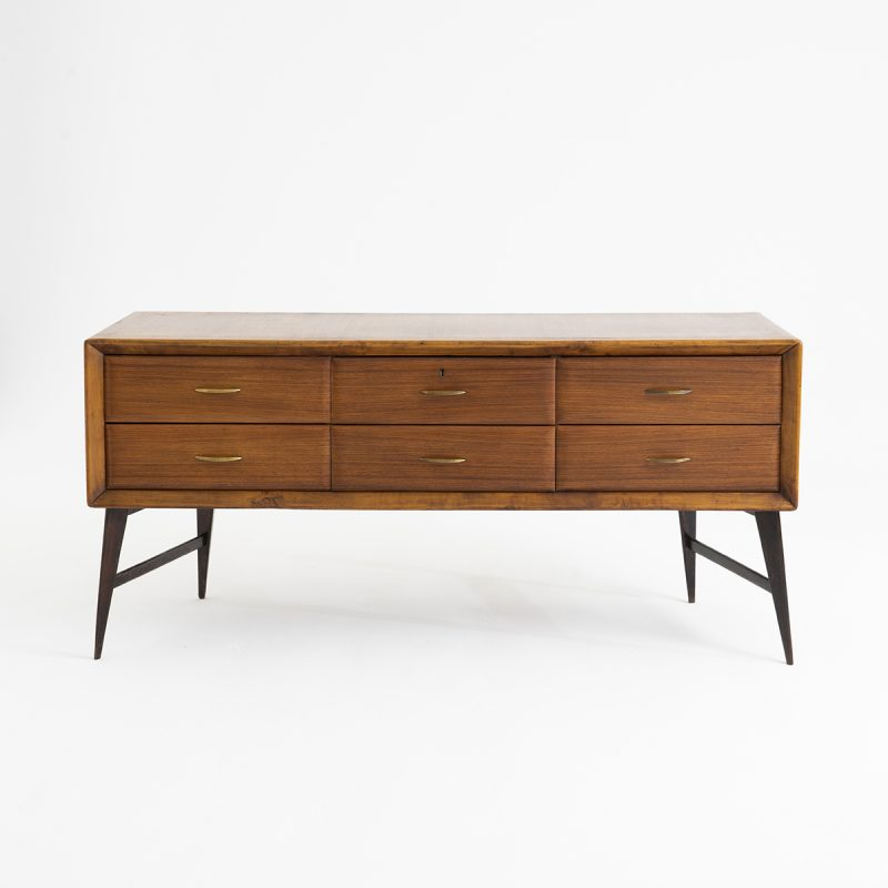 1950s Italian sideboard or chest of drawers