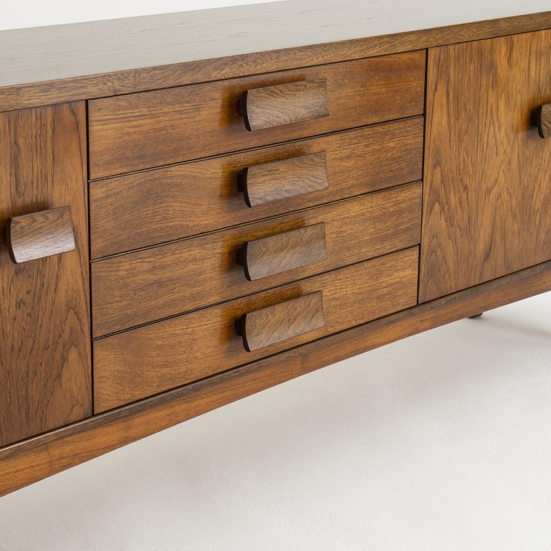 1960s English Oak & Afromosia sideboard