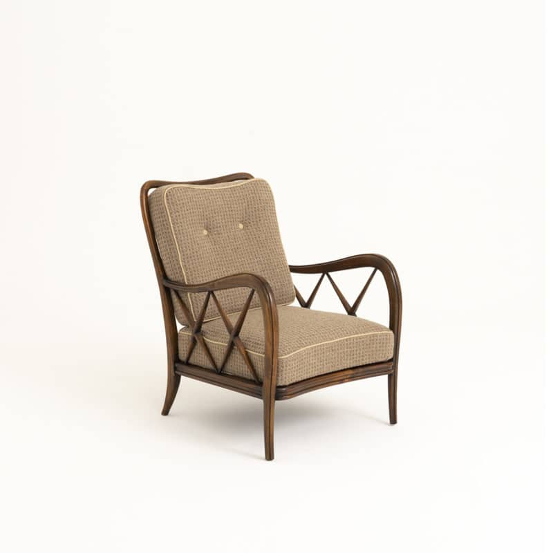 Pair of chairs attributed to Oswaldo Borsani