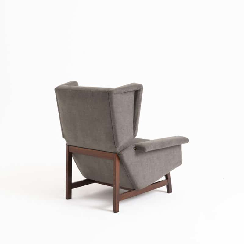 1950s Italian wing back chair