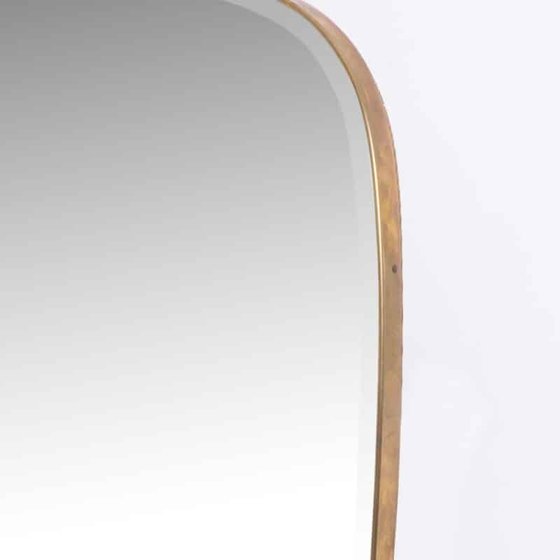 1950s Italian mirror with hand bevelled glass